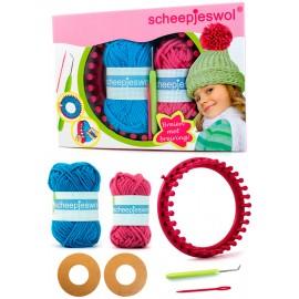 Kit de tricot avec mètier à tisser circulaire - Scheepjes
